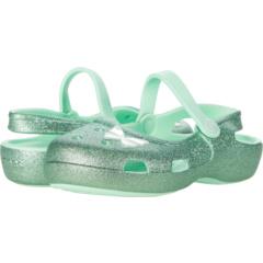 Классический оберег с блестками Мэри Джейн (для малышей / маленьких детей) Crocs Kids