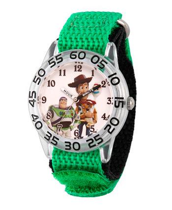 Игрушка для мальчика Disney Toy Story 4 Вуди, Базз Лайер, Бо Пип Зеленый Пластик Часы для учителя с ремешком 32мм Ewatchfactory
