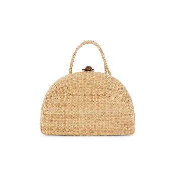 Маленькая сумка для пикника из водорослей с ручкой сверху Sea & Grass