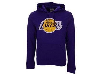 Мужская толстовка с капюшоном с логотипом Los Angeles Lakers Majestic