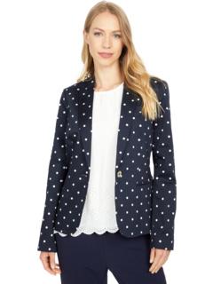 Куртка с точечным принтом на одной пуговице Tommy Hilfiger