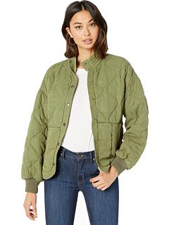 Стеганая куртка с открытыми плечами Blank NYC