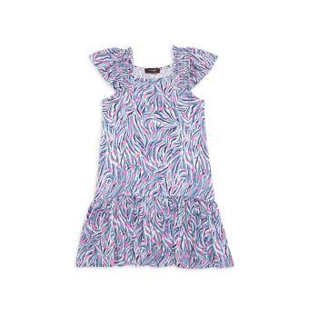 Маленькая девочка & amp; Платье Софи для девочек Imoga