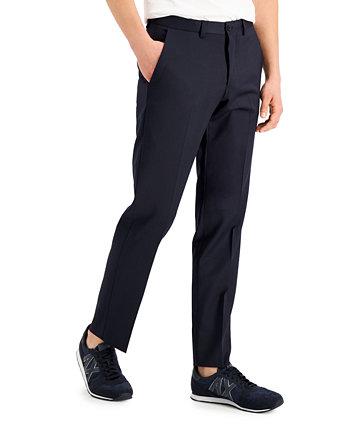 Armani Exchange Мужские модные темно-синие твердые костюмы с раздельными брюками Armani Exchange