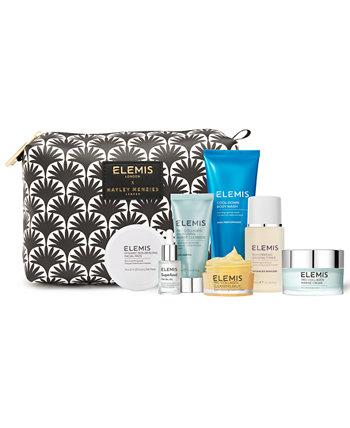 8-шт. Elemis x Hayley Menzies Skin Wellness Essentials Набор для ухода за кожей Elemis