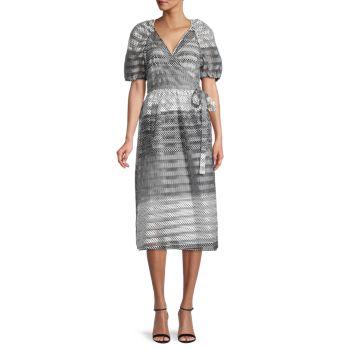 Платье Adalaine в горошек BAUM UND PFERDGARTEN