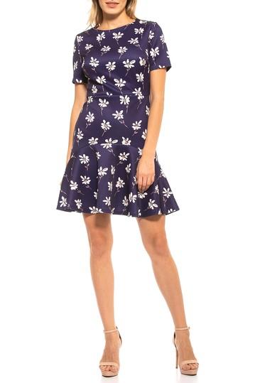 Платье Monica с оборкой на подоле ALEXIA ADMOR