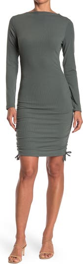 Long Sleeve Fitted Knit Dress Wishlist