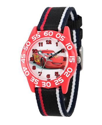 Красные Пластмассовые Часы Учителя Мальчиков Диснея Ewatchfactory