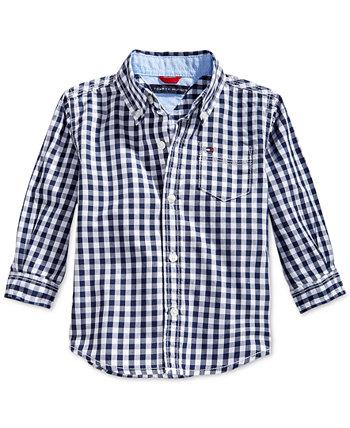 Рубашка в клетку для мальчиков Baxter Tommy Hilfiger