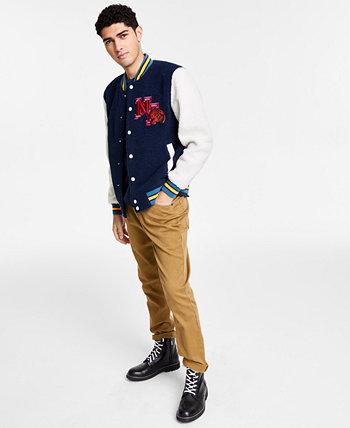 Мужская куртка-бомбер Robbie Varsity, созданная для Macy's Sun + Stone