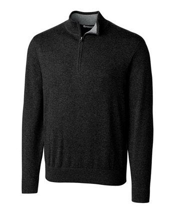 Мужской большой и высокий мужской свитер с молнией и застежкой-молнией Cutter and Buck Lakemont Cutter & Buck