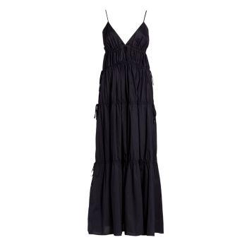 Платье April из сплошного хлопка Jonathan Simkhai