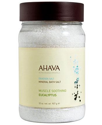 Минеральная соль для ванн Эвкалипт, 32 унции AHAVA