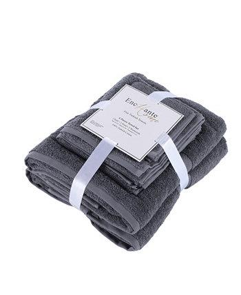Турецкие хлопковые полотенца Bomonti, набор из 6 предметов Enchante Home
