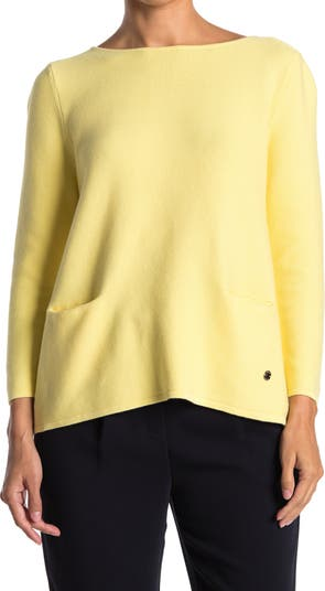 Вязаный свитер в рубчик FRNCH