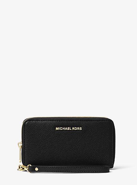 Большой кожаный ремешок для смартфона Michael Kors