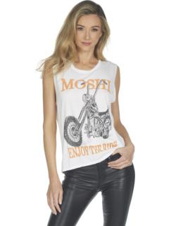 Kel Moshi Ride Muscle Tank с шлифовкой Lauren Moshi