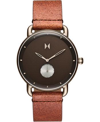 Мужские часы Nomad Land Brown с кожаным ремешком 41мм MVMT