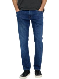 Marcus Slim Straight in Dark Brushed Feather Blue Mavi Jeans