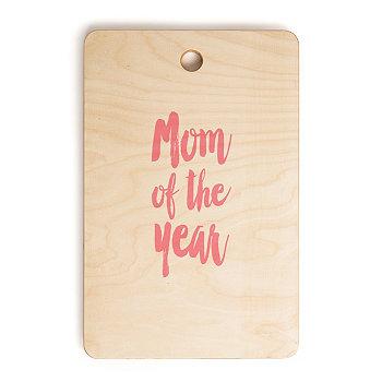 Мама года: прямоугольная разделочная доска Deny Designs