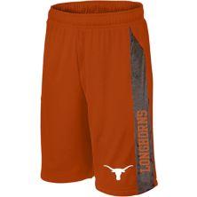 Men's Texas Orange Texas Longhorns Big & Tall Textured Inserts Mesh Shorts Unbranded