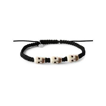 Silver & Onyx Bracelet Tateossian