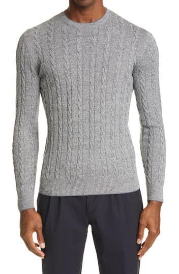 Вязаный шерстяной свитер Eleventy
