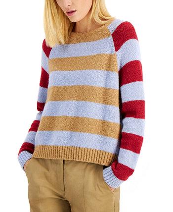 Полосатый свитер с гео Weekend Max Mara