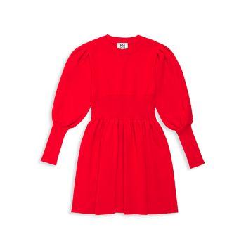 Платье-свитер для девочек из баранины Milly Minis