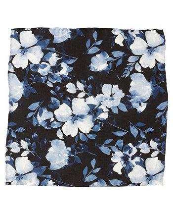 Мужской нагрудный платок с цветочным рисунком и росписью Ox & Bull Trading Co.