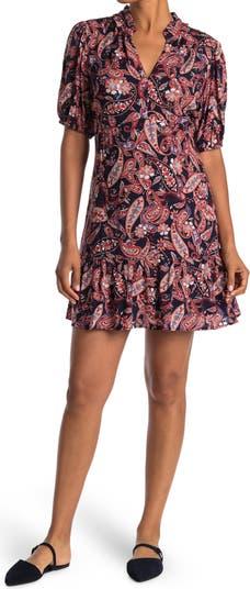 Мини-платье с объемными рукавами Collective Concepts