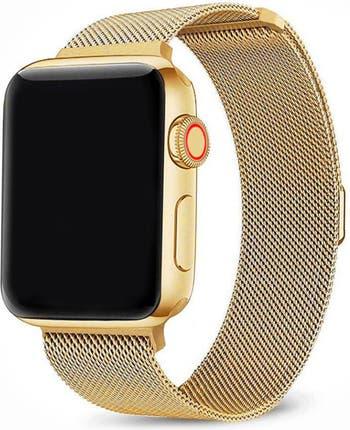 Ремешок из нержавеющей стали для Apple Watch Series 1, 2, 3, 4, 5 - 38 мм / 40 мм POSH TECH
