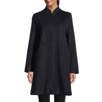 Пальто на молнии Armani Collezioni
