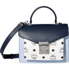 Кожаная сумка-портфель Patricia Visetos, маленькая MCM