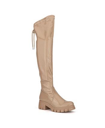Женские высокие ботинки Madison с выступом на подошве OLIVIA MILLER