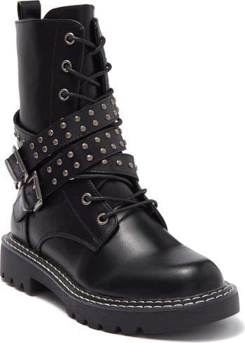 Боевые ботинки Janet с поясом Ziginy