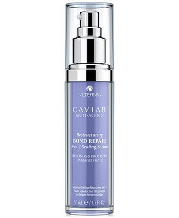 Caviar Anti-Aging Restructuring Bond Repair 3-In-1 Sealing Serum, 1,7 унции. Alterna