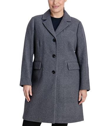 Однобортное пальто Walker больших размеров, созданное для Macy's Michael Kors