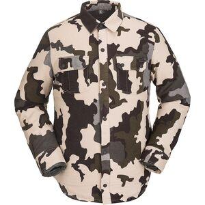 Фланелевая куртка из шерпы Volcom