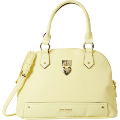 Under Lock and Key Dome Satchel Juicy Couture