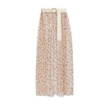 Макси-юбка Fetes с поясом Rachel Comey