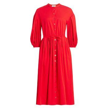 Платье India с воздушными рукавами STINE GOYA