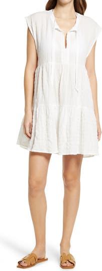 Fiona Flouncy Cover-Up Dress Robin Piccone