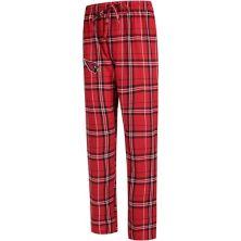 Men's Concepts Sport Cardinal Arizona Cardinals Big & Tall Hillstone Flannel Pants Unbranded