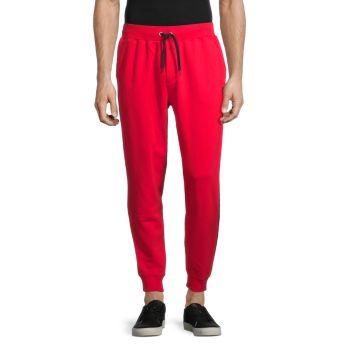 Полосатые спортивные штаны с кулиской Cult Of Individuality