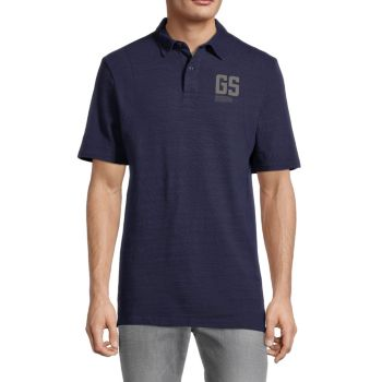 Сшить & amp; Рубашка-поло с графическим логотипом G-STAR RAW