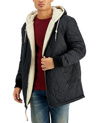 Двусторонняя стеганая мужская куртка с капюшоном Onion Sean John