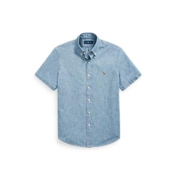 Рубашка классического кроя из шамбре Ralph Lauren