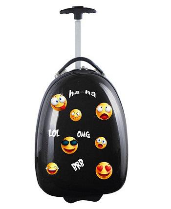 Детский чемодан-капсула с эмодзи Mojo Kids Mojo Licensing